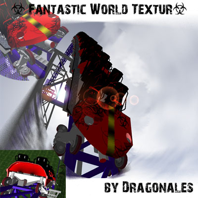 Fantastic World Car Textur